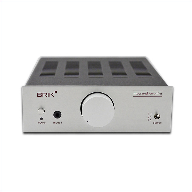 Brik Audio Integrated Amplifier.